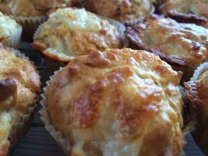 Mozarella/bacon Muffins