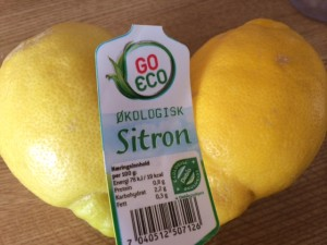 Økologiske Sitroner