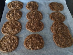 Nutella choc chip cookies 15