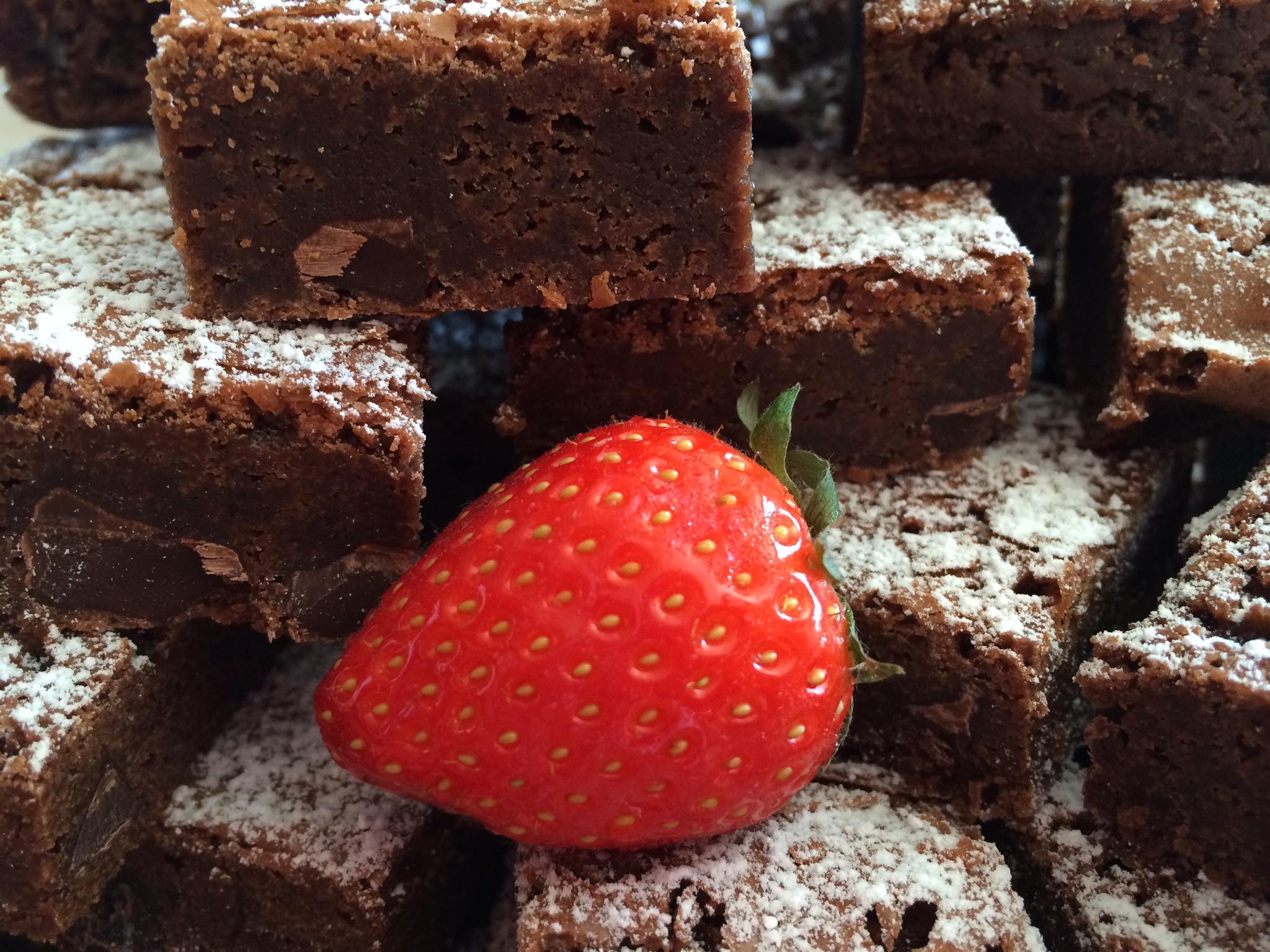 Choc Chip Brownie – Brownie med sjokoladebiter